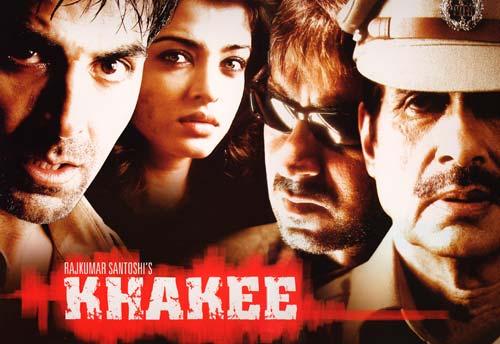 Khakee (2004) - Amitabh Bachchan, Akshay Kumar, Ajay Devgan, Aishwarya Rai, Tusshar Kapoor, Atul Kulkarni, Jayapradha, Lara Dutta, Prakash Raj, Sabyasachi Chakravarthy, Tanuja, Ashwini Khalsekar, Radhika Menon, D. Santosh, Kamlesh Sawant